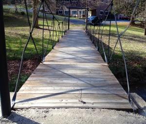 Bridge over Troublesome Creek